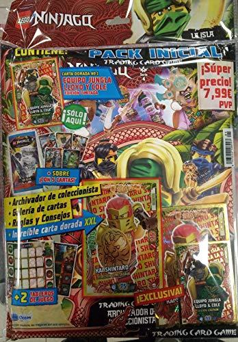Pack Inicial LEGO NINJAGO La Isla Archivador + cartas + Limitada XXL