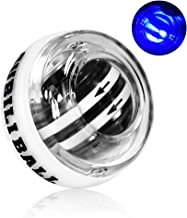Huaker Wrist Trainer Ball Auto-Start Excerises Arm Strengthener Essential Gyroscopic Wrist and Forearm Exerciser Wrist Ball for Stronger Muscle and Bones Workout