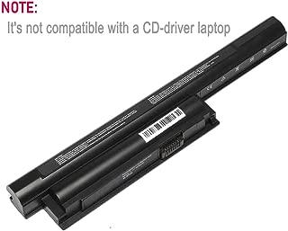 Bull High Performance Laptop Battery 6-Cell / 11.1V 5200mAh for Sony VAIO VGP-BPS26 VGP-BPL26 VGP-BPS26A ;Sony VAIO CA Series/EJ Series/EG Series/CB Series