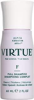 VIRTUE Full Shampoo 2 FL OZ | Volumizing Shampoo | Thickens, Volumizes