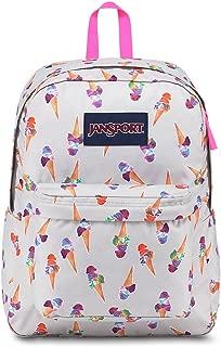 JanSport Superbreak Backpack - Cones And Scoops - Classic, Ultralight