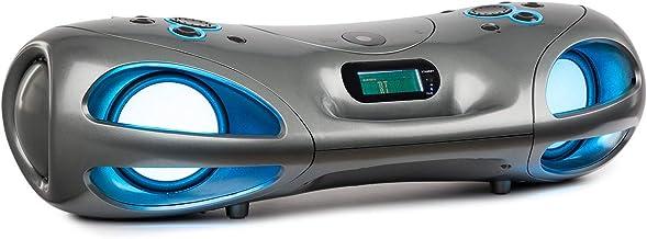 auna Spacewoofer Altavoces con Reproductor de CD - Altavoz
