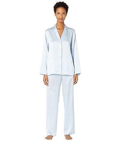 La Perla Silk Pajama (Azure) Women