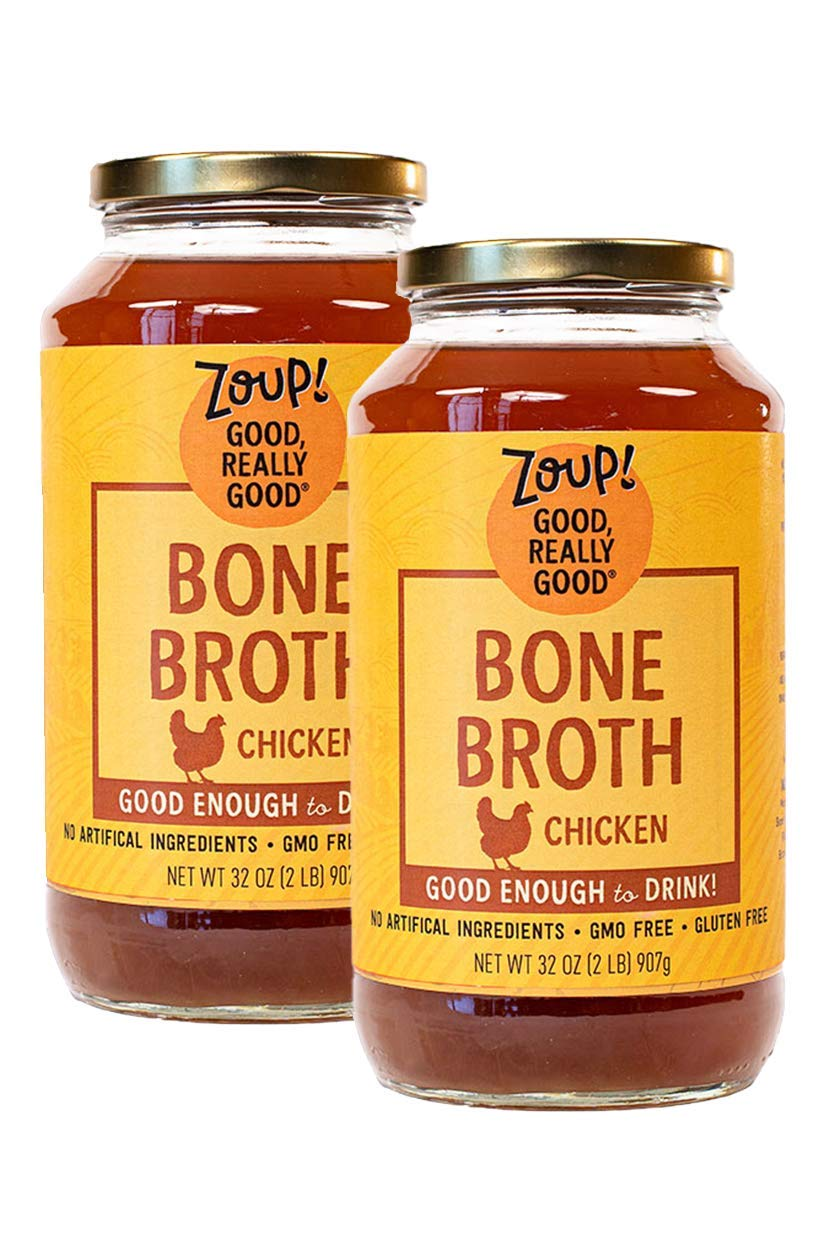 Max 60% OFF Zoup Chicken Bone Broth - Free Superior Fat 2-pack 32 of