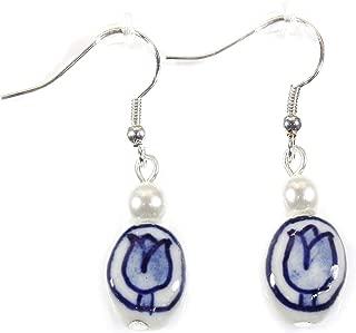 delft earrings