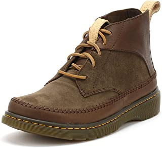 DR MARTENS Flloyd 5 Eye Boots 13 D(M) US Dark Brown