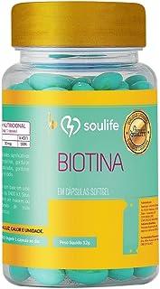 Biotina - 120 cápsulas - Soulife