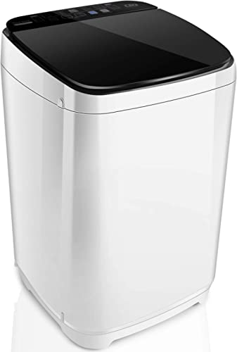 Full-Automatic Washing Machine Nictemaw Portable Washer Machine 1.48 Cu.ft/13.6Lbs Capacity Laundry Washer Spin Dryer...