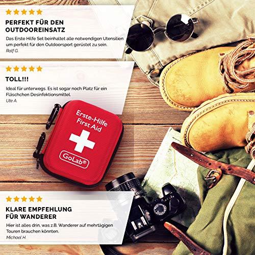 Erste Hilfe Set Outdoor, Sport & Reisen für die optimale Erstversorgung - 3