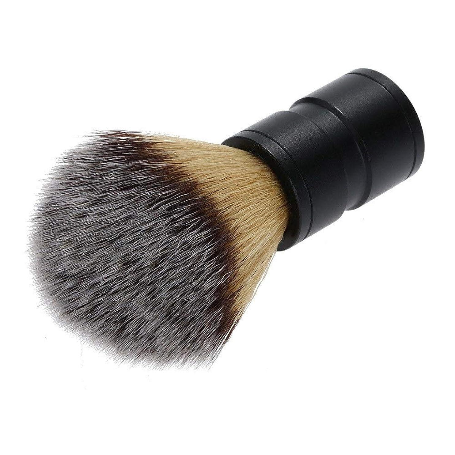 ベンチキャプチャー時計回りシェービングブラシ ひげブラシ シェービングブラシ プレゼント 理容 洗顔 髭剃り 泡立ち メンズ用 親父 ご主人 ボーイフレンド 友人にプレゼント クリスマスプレゼント