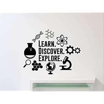 Funny Science ThemedScience Power Sticker