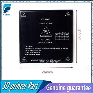 3D Printer 3D Printer Heatbed Heat Bed MK3 Standard Aluminum Plate 3mm Hot Bed 214214MM