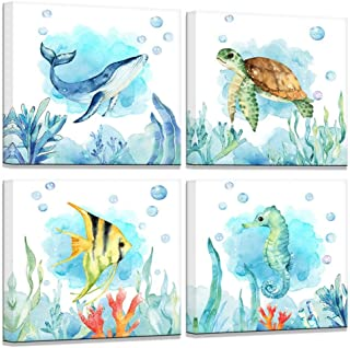 fish watercolor prints