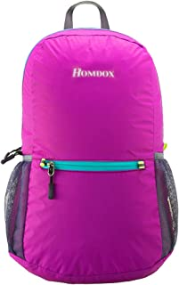 Homdox 22L Ultra Lightweight Packable Travel Backpack Water Resistant Hiking Daypack,Small Backpack Handy Foldable Camping Outdoor Backpack Little Bag - Durable & Waterproof