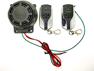 Carrfan Motorcycle Moto Alarm Anti-Theft Secure System Warning Lock Motorbike Burglar Alarm Remote Control Sensor