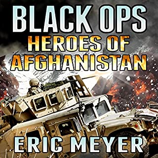 Black Ops Heroes of Afghanistan audiobook cover art