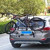 LJ-BICYCLE RACK Fahrradträger Auto hinten hängen Trunk einziger Frame Hinterer Rahmen Hinten hängender Rahmen Hängendes Regal Hang 1 Bike