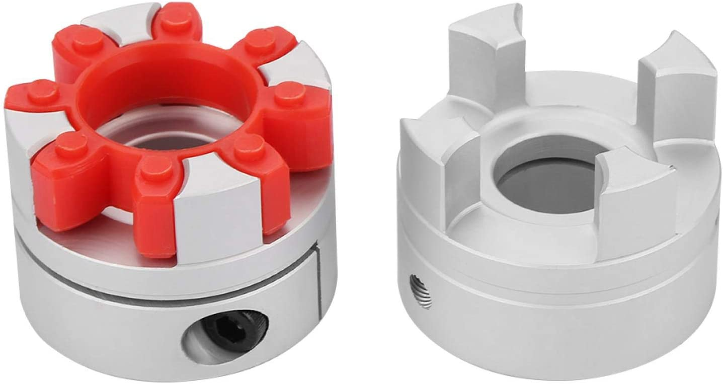 1pcs Jaw Shaft Coupling Convenient Very popular! Ranking TOP3 to Flexible Disconnect Couple