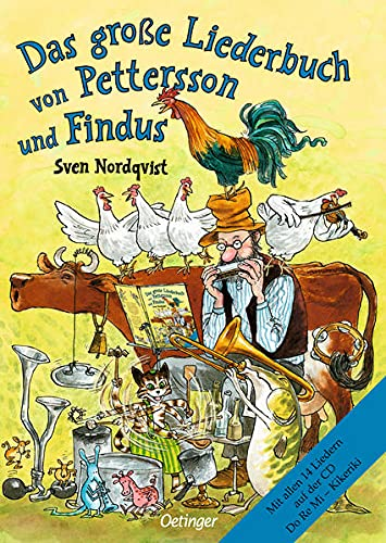 Das große Liederbuch von Pettersson und Findus