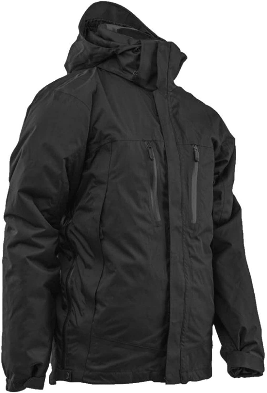 TRUSPEC 2497005 H2O Proof Element 3in1 Jacket, Large Regular, Black Black Inner Jacket