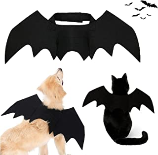 Strangefly Halloween Bat Wings Pet Costume,Party Dress Up Funny Cool Apparel,for Cat and Small Medium Large Dog