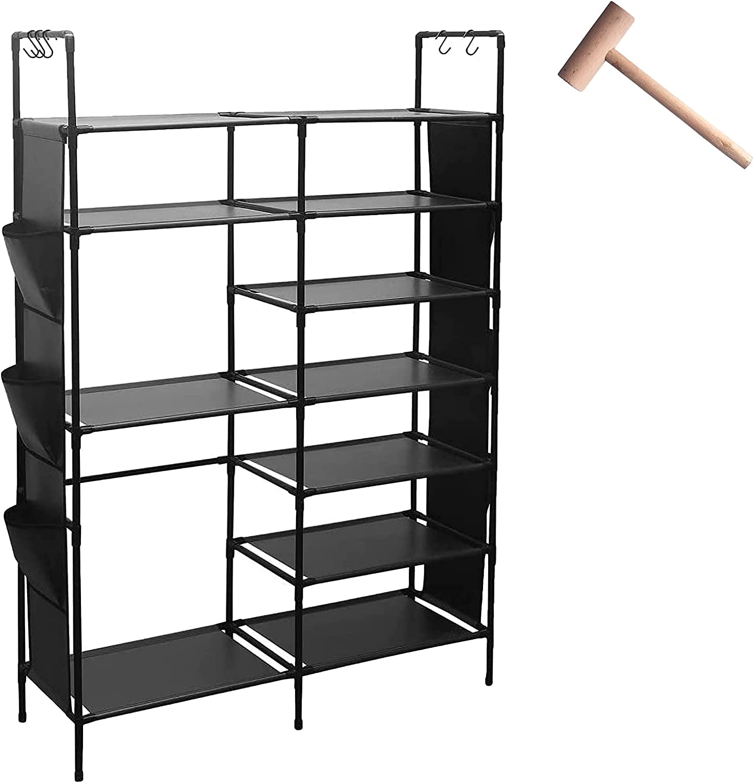 Arlington Mall IMVELY Shoe Rack Organizer Shelf 7-Tie for Storage Surprise price Entryway