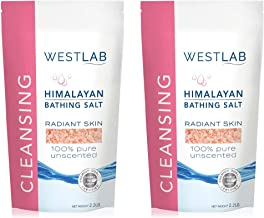 Himalayan Salt Pink Fine 4.4 lbs 2 Pack(FINE for Bathing in 2 x 2.2 lb resealable pouches)