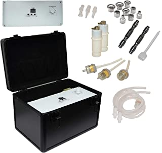 LCL Beauty Elite 3 in 1 Multifunction Diamond Microdermabrasion Facial Machine with Spray Diffuser and Vacuum
