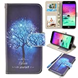 LG stylo 3 Case, UrSpeedtekLive LG stylo 3 Wallet Case, Premium PU Leather Flip Wallet Case Cover w/Card Slots & Kickstand Compatible with LG stylo 3, Believe in Yourself