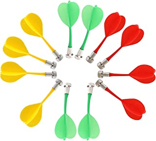 pour int/érieur ou ext/érieur Comprend 4 balles Surplex Jeu de fl/échettes /à Suspendre pour Enfant 4 fl/échettes pour Jeu de fl/échettes avec Jeu de Lancer de fl/échettes Ferme
