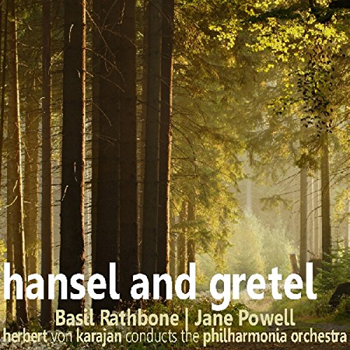 Hansel and Gretel                   By:                                                                                                                                 Saland Publishing                               Narrated by:                                                                                                                                 Basil Rathbone,                                                                                        Jane Powell                      Length: 32 mins     2 ratings     Overall 4.0