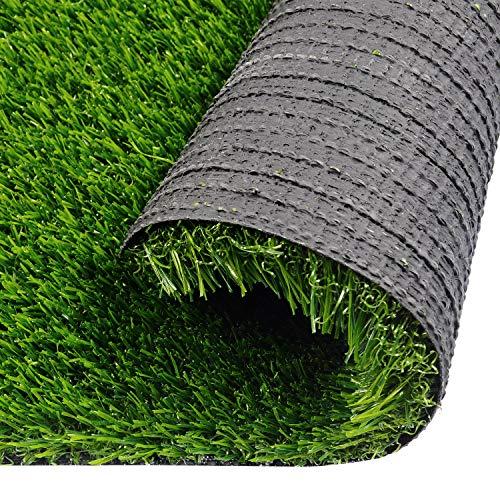 Kunstrasen 2 x 6 ft Welpen-Training Fake Gras für Hunde Indoor Outdoor Rasen Teppich für Wohnung Terrasse Rasen