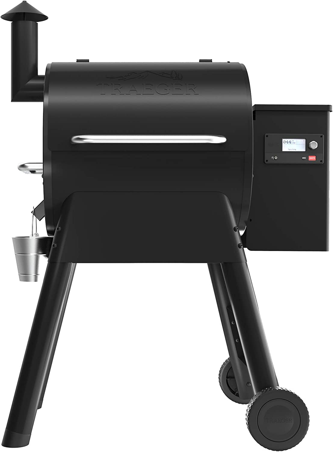 Traeger Grills Pro Series 575 Wood Pellet Grill and Smoker, Black