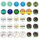 Custom Variety Pack Tea Single Serve Cups for Keurig K Cups Brewer Sampler,Net Wt. 9.52 , 30 Count