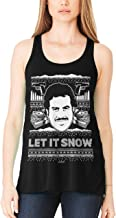 HAASE UNLIMITED Let It Snow - Famous Drug Lord Ugly Christmas Ladies Flowy Tank Top