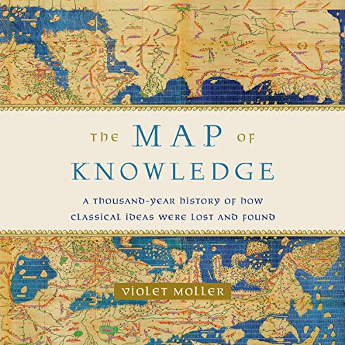 The Map of Knowledge audiobook cover art