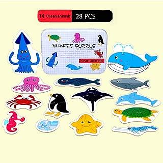Best ocean animal puzzle Reviews