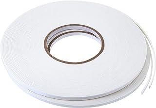 2 Rolls Double Sided Foam Tape White PE Foam Tape Sponge Soft Mounting Adhesive Tape 1/4 inch by 50 Feet white Tatuo-Foam ...
