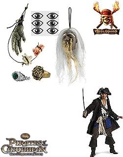 Cannibal Jack Sparrow Accessory Kit Costume Set