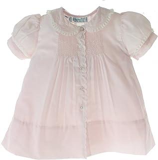 Feltman Brothers Girls Pink Slip Dress Button Down