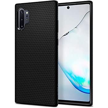 Spigen Liquid Air Armor Designed for Samsung Galaxy Note 10 Plus Case/Galaxy Note 10 Plus 5G Case (2019) - Matte Black