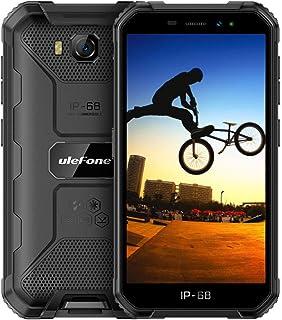 頑丈な電話はUlefone Armor X6(2020)のロックを解除し、防水性と頑丈な電話は世界中の3Gのロックを解除し、デュアルSIM 5 '' Android 9.0 2GB + 16GB 8MPカメラ4000mAh GPS/Glonas...