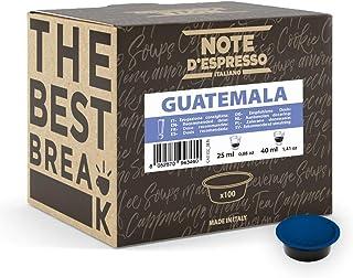 Note d'Espresso - Guatemala - Dosettes de Café - Compatible avec les Machines LAVAZZA* A MODO MIO* - 100 caps