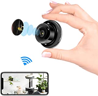 Veroyi Mini IP Camera Wireless WiFi Home Security Surveillance Nanny Camcorder with 2 Way Audio Motion Detection Night Vision