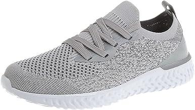 Beudylihy Chaussures de sport légères et tendance pour femme, tissage volant, chaussettes de sport, chaussures d'élève, ch...