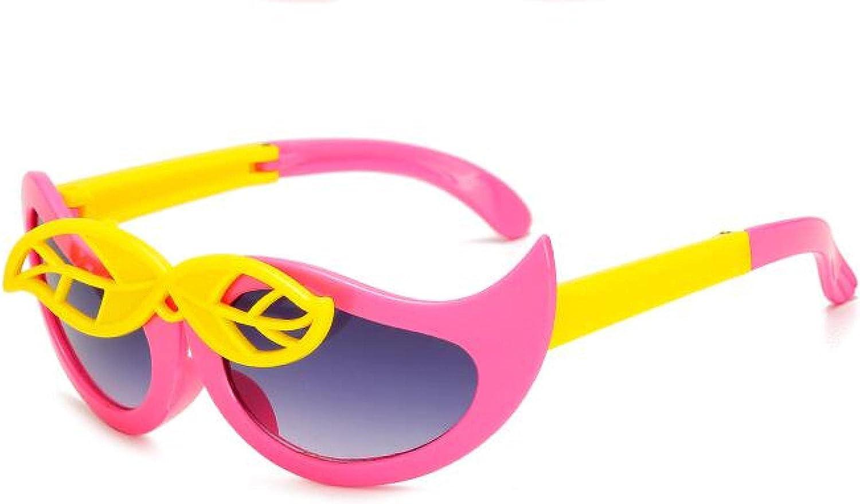 Same day shipping Bombing free shipping MAOXING Fashion Children's Folding Sunglasses High-D