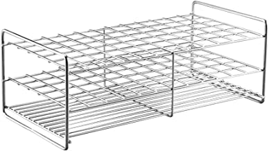 Stainless Steel Test Tube Rack, 72 Holes,Outer Diameter Permitted of Tubes 17-19mm,Wire Constructed, 12x6 Format,Adamas-Beta