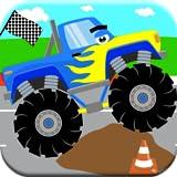 Monster Truck Games for Toddler Kids: Ages 2 3 4 5! Big Trucks