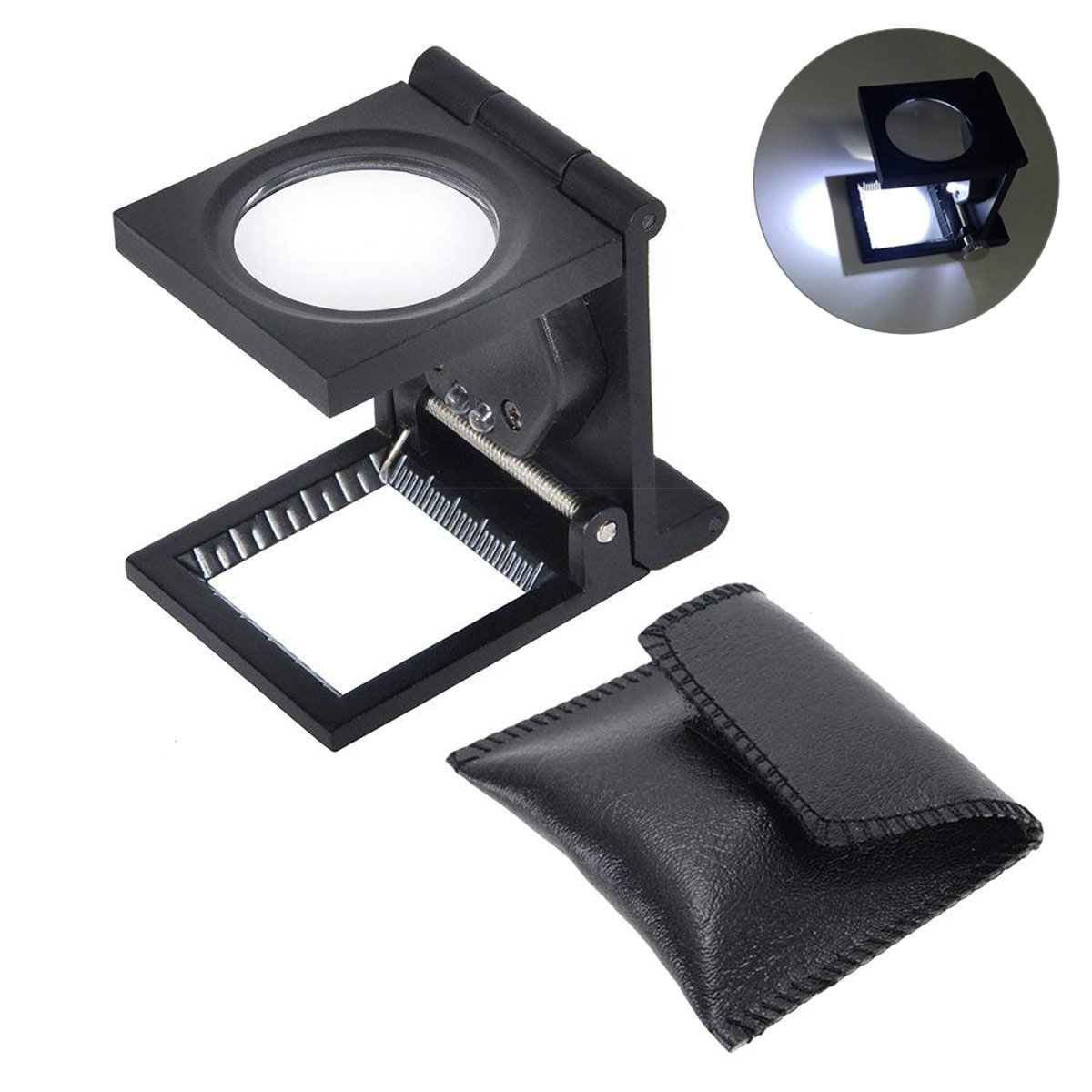 Yosoo Magnifying Portable Magnifier Collection