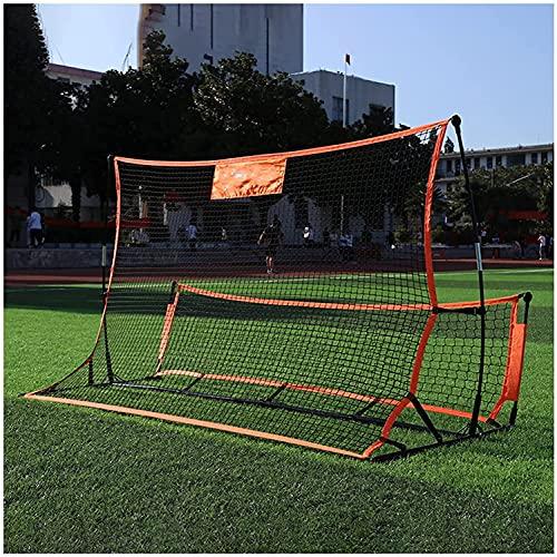 TREEECFCST Porteria Futbol Niños Portería de Fútbol Portería de fútbol Plegable portátil para Puerta de Juego de Entrenamiento de fútbol para niños y Adultos 818(Size:1.8m)